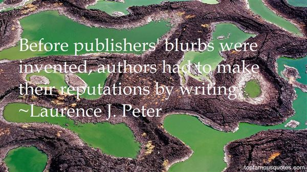 Quotes About Blurb