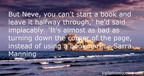 Quotes About Bookmark