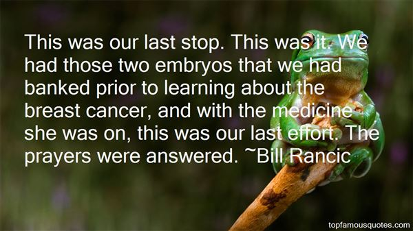 Quotes About Breast Cancer