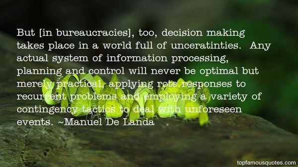 Quotes About Bureaucracies