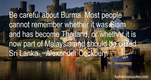 Quotes About Burma