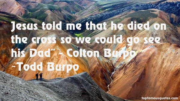 Quotes About Burpo