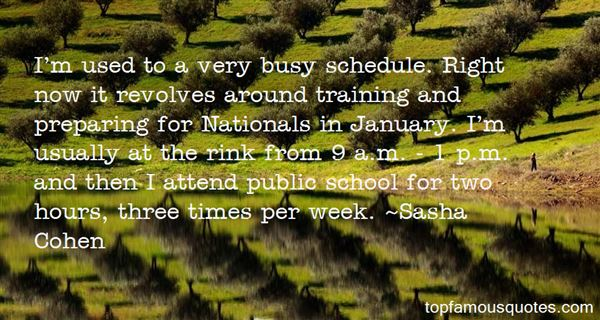 Quotes About Busy Schedule