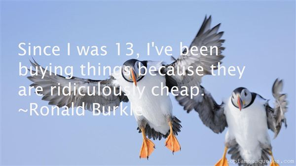 Quotes About Buying Cheap