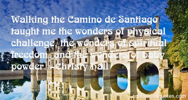 Quotes About Camino De Santiago