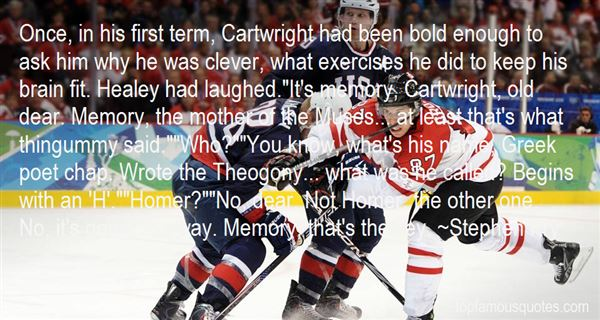 Quotes About Cartwright