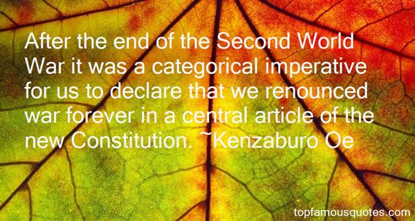 Quotes About Categorical Imperative