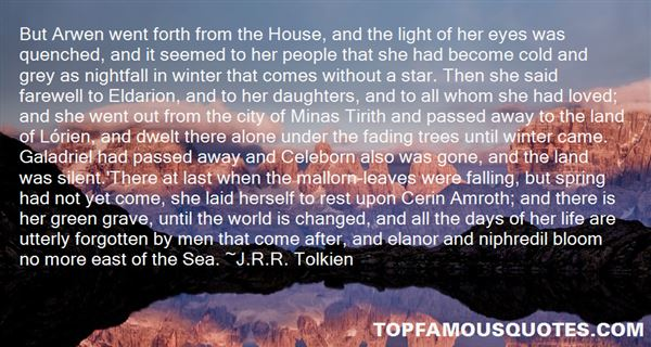 Quotes About Celeborn