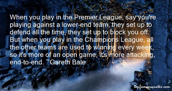 Quotes About Champions League