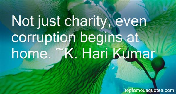Charity Begins At Home Quotes Best 5 Famous Quotes About
