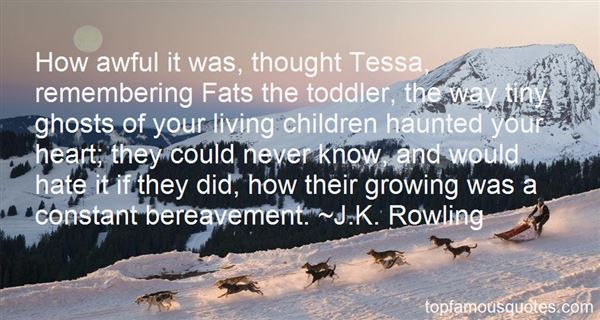 Quotes About Child Bereavement