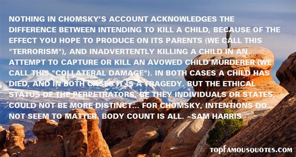 Quotes About Chomsky