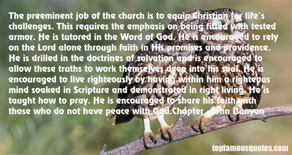 Quotes About Christian Providence