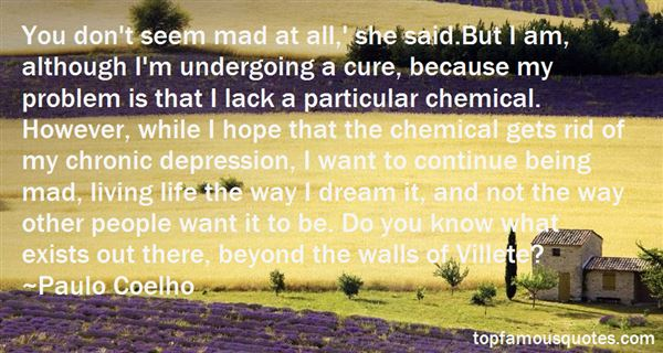 Quotes About Chronic Depression