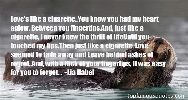 Quotes About Cigaret
