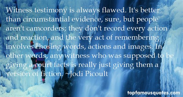 Quotes About Circumstantial Evidence