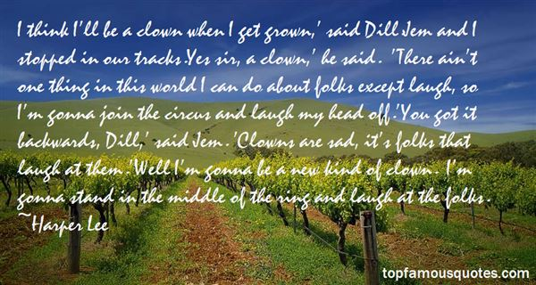 Quotes About Circus Clowns