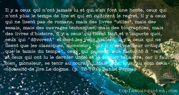 Quotes About Classiques