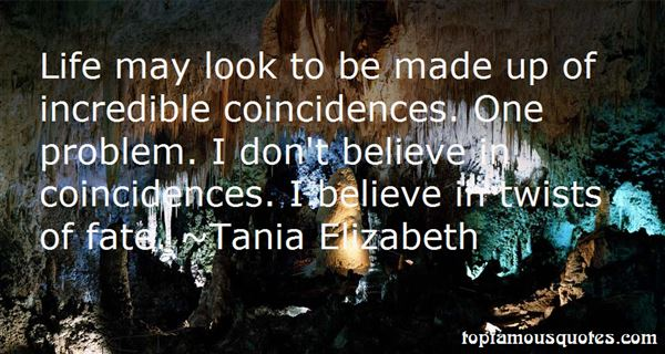 Quotes About Coincidenc