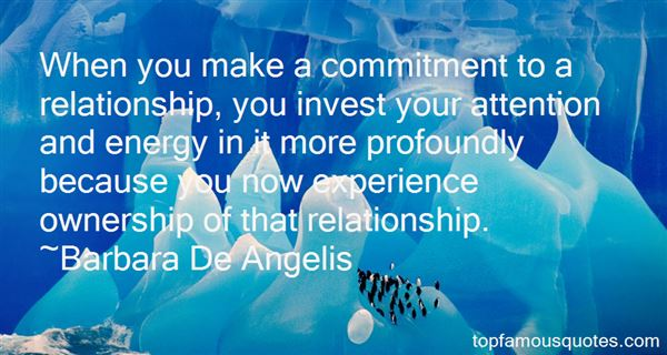 Quotes About Commitment In A Relationship