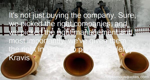 Quotes About Companies