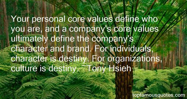 Quotes About Company Values