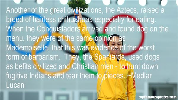 Quotes About Conquistadors