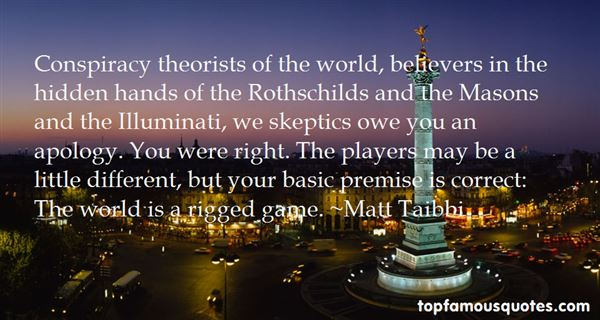 Quotes About Conspiracy Theorists