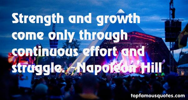 Quotes About Continuous Effort