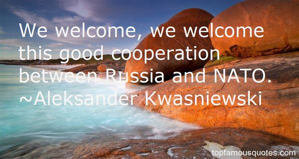 Quotes About Cooperation