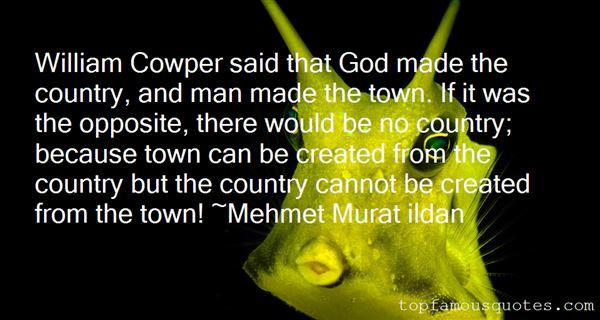 Quotes About Cowper
