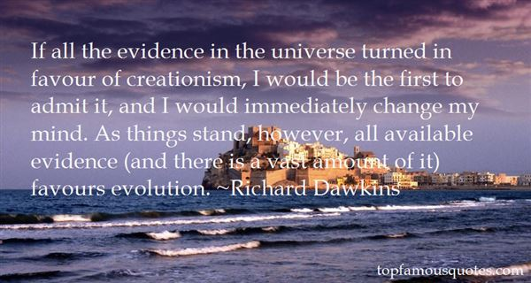 Quotes About Creationism And Evolution