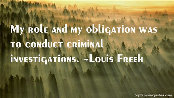 Quotes About Criminal Investigations