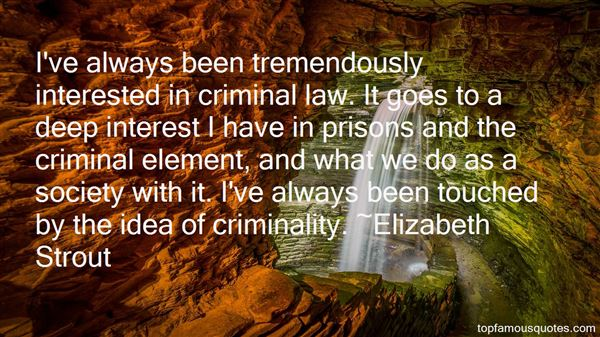 Quotes About Criminality