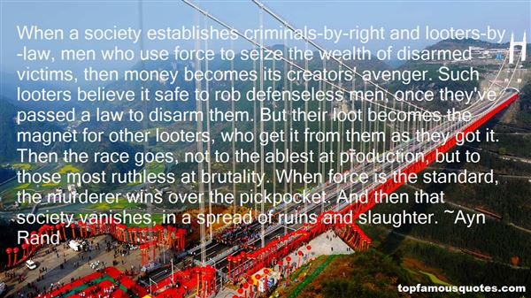 Quotes About Criminals And Society