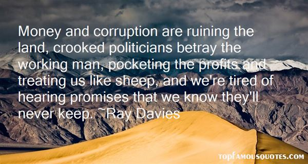 Quotes About Crooked Politicians
