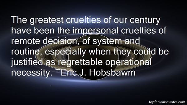 Quotes About Cruelties
