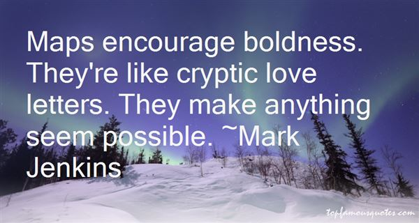 Quotes About Cryptic Love