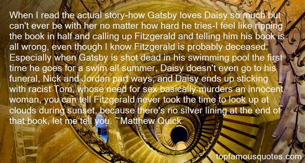 Quotes About Daisy And Tom