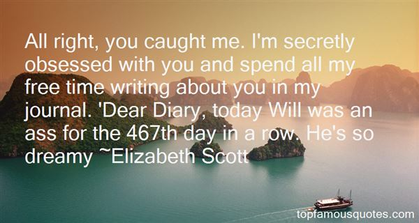 Quotes About Dear Diary