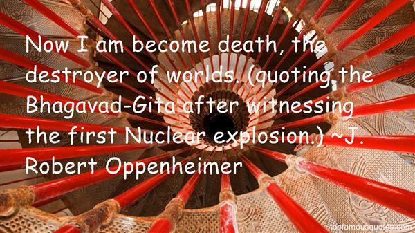 Quotes About Death Bhagavad Gita
