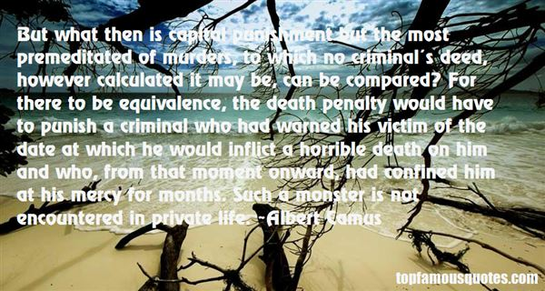 Quotes About Death Penalty Con