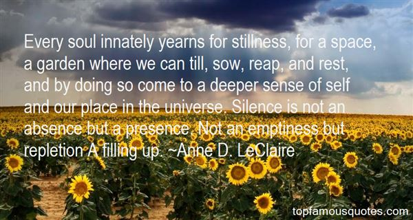 Quotes About Deep Emptiness