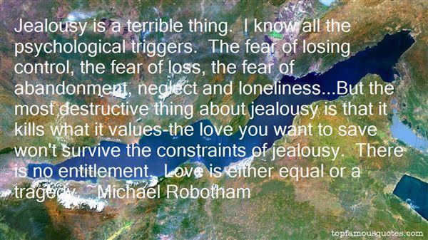 Quotes About Destructive Love