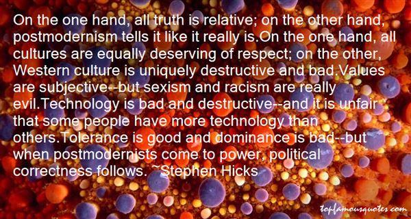 Quotes About Destructive Technology