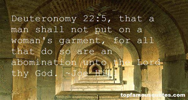 Quotes About Deuteronomy