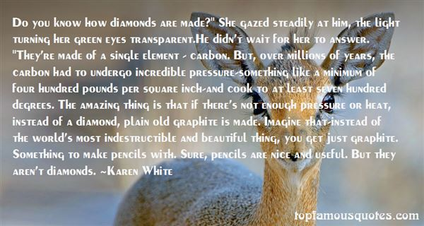Quotes About Diamond And Pressure