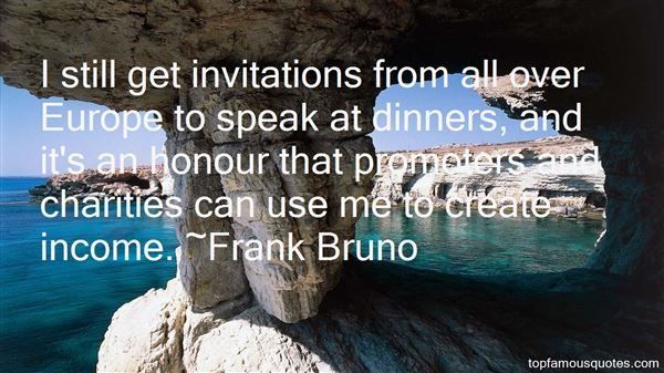 Quotes About Dinners