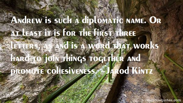 Quotes About Diplomatic