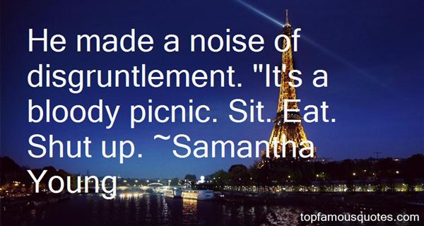 Quotes About Disgruntlement